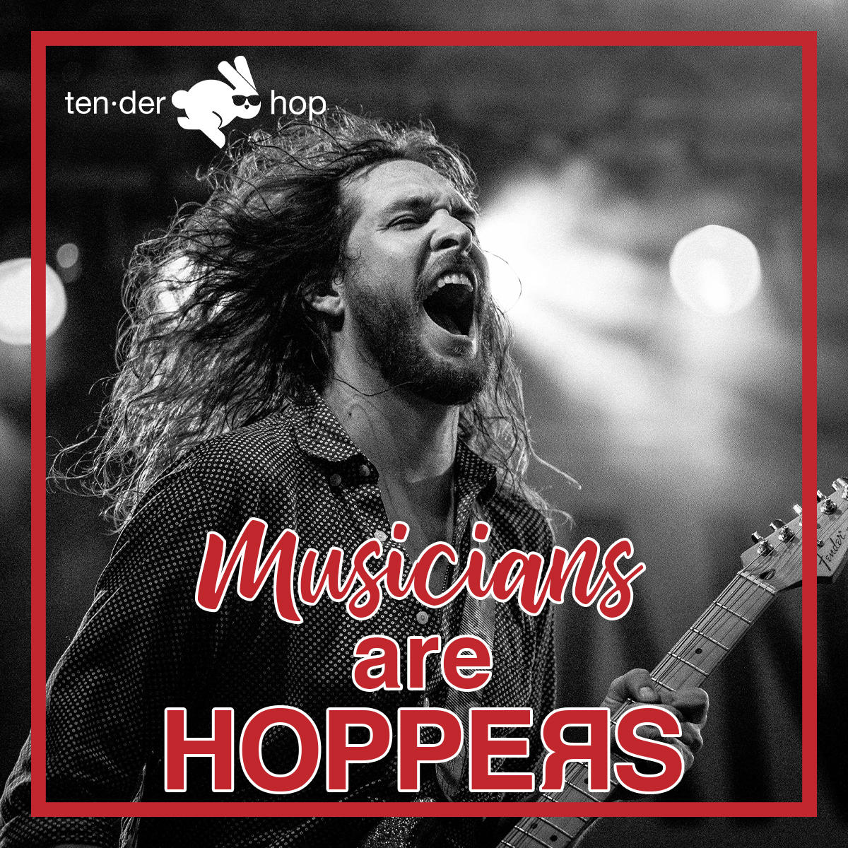Musicians are HOPPERS