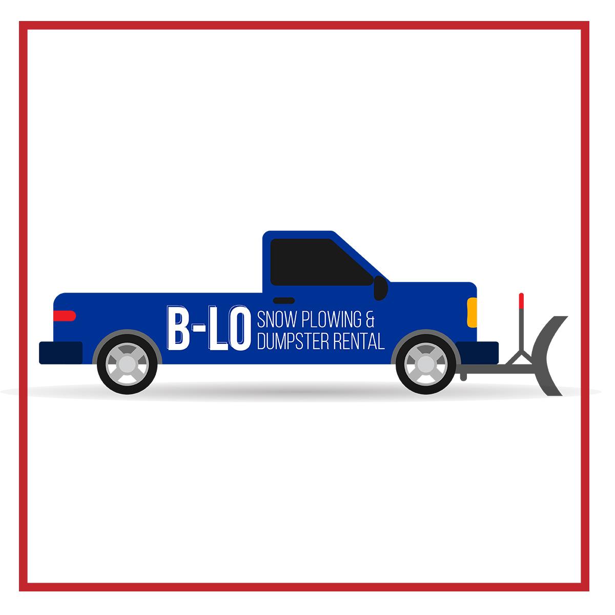 B-Lo Snow Plowing & Dumpster Rental