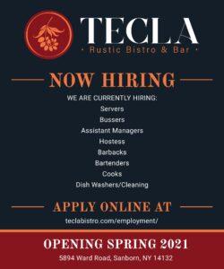 Tecla - Now Hiring