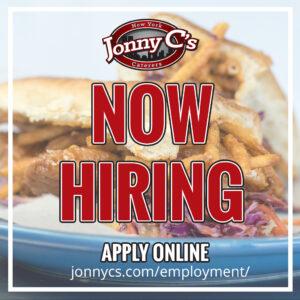 Jonny C's - Now Hiring