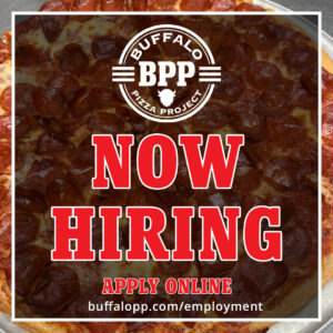 Buffalo Pizza Project - Now Hiring