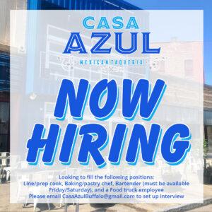 Casa Azul - Now Hiring